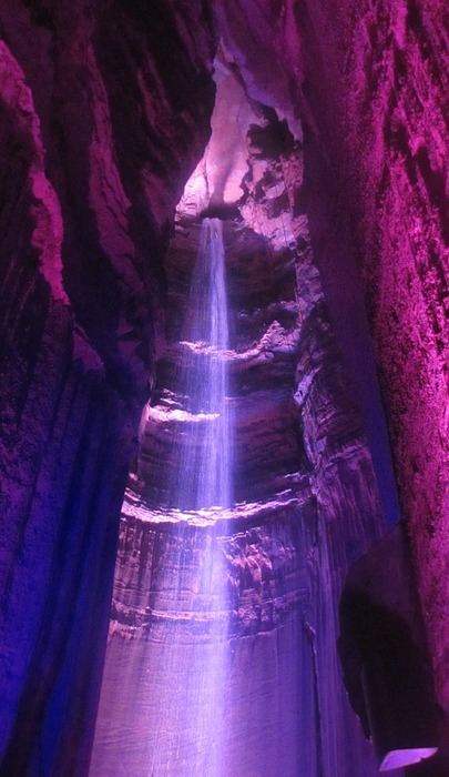 ruby falls, tennessee, tourist attraction