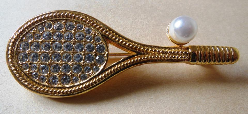 earrings, jewelry, tennis
