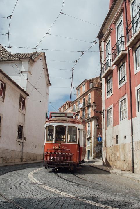 tramway, public, transport